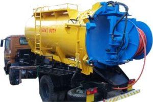 sewer suction cum jetting machine
