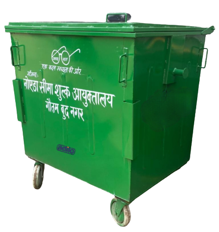 Garbage Dustbins 1100 Ltrs