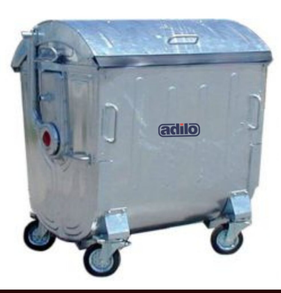 GALVANISED DUSTBINS 11000 Ltrs