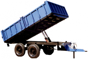 Tractor Mounted HYDRAULIC TRAILER