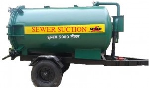 Tractor Towed Sewer Suction Machine