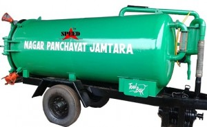 sewer Suction 4000 Ltrs