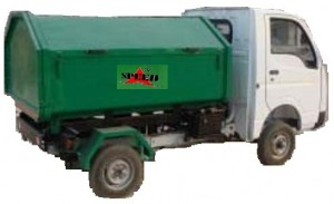 Closed body Garbage Tipper